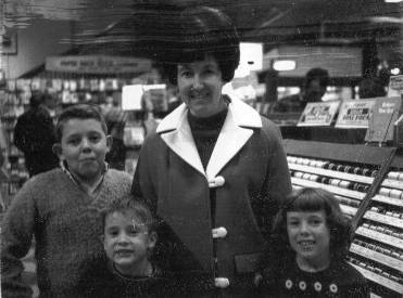 Joyce and kids (Larry, Rick, Joy)