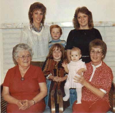 Four generations, November 1983