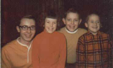 Jeff, Joy, Larry, Rick, December 1967