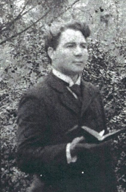 Arta McLain Seely as a young missionary in Alabama, a year or so before he married Alfaretta Neff.