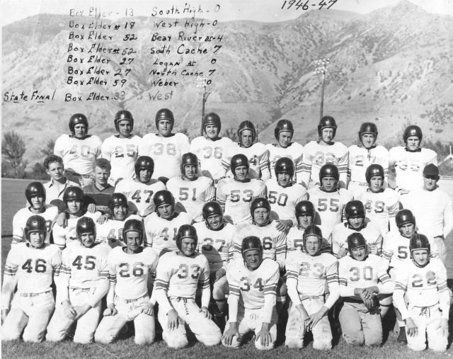 Box Elder High School football team 1946-47
