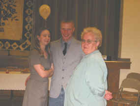 CaroLyn, DJ, and Rita (Ma East's nurse)