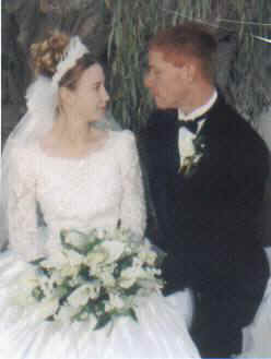 DJ & CaroLyn wedding, November 13, 1998