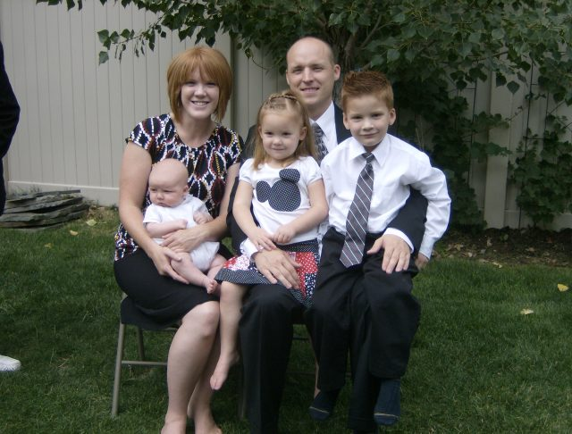 David, Angela, and family, August 2010