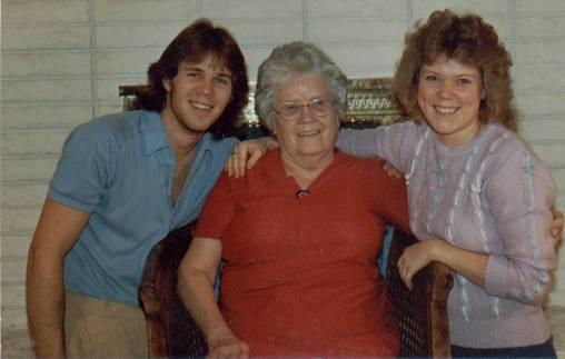 David, Linnie, Holly November 1983