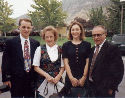 David, Mary, Jennifer, Lynn at the MTC