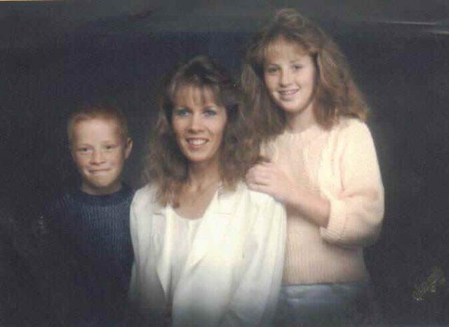 DJ, Donna, and Krista, 1988