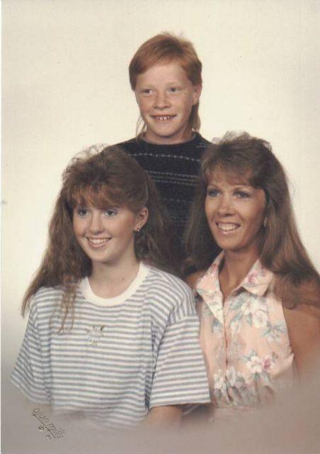 Krista, DJ, Donna, 1991