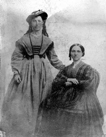 Elizabeth Jane Fisher and her sister Ruhamah Fisher