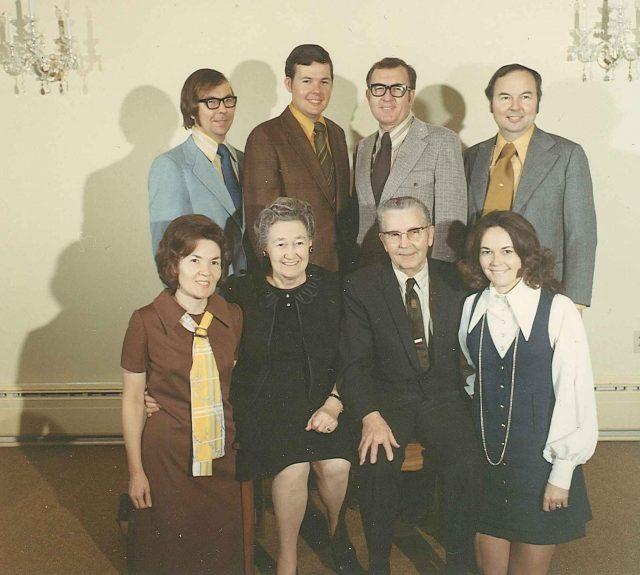 Seely family, Dec 1972