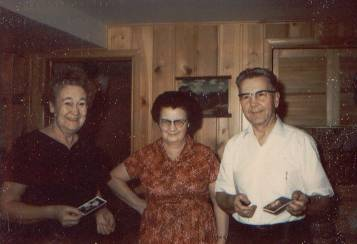 Grace Thompson Seely, Boston Thomas Richman, and Francis Leland Seely in December 1966