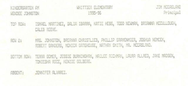 Hailee-school-grade00-kindergarten-names