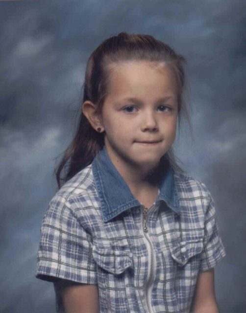 Second grade, age 7, 1997