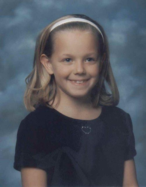 Third grade, age 8, 1998