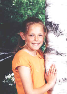 Another fifth grade picture taken in April 2001