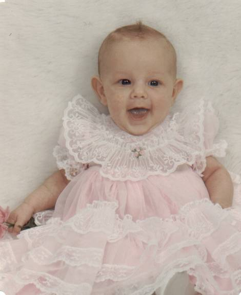Hailee as a baby