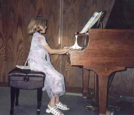 At a piano recital