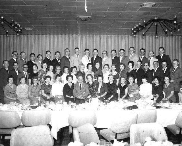 Joyce's 15-year high school reunion in Aug 1961
