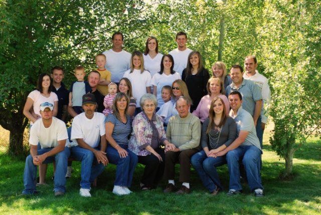 Jackman clan, September 2007