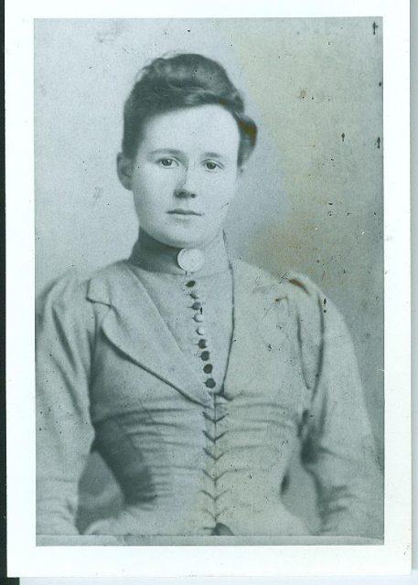 Jane Bosomworth before her marriage