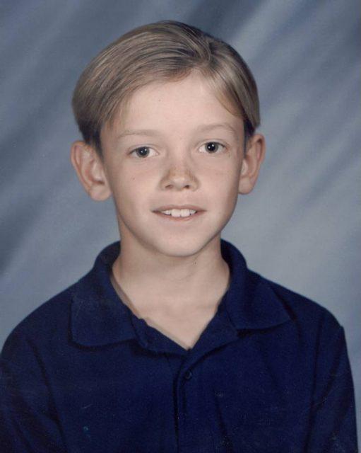 Jason, fourth grade, 1996