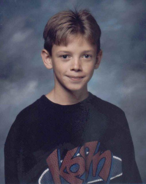 Jason, sixth grade, 1997