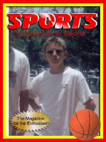Jason, sports magazine cover
