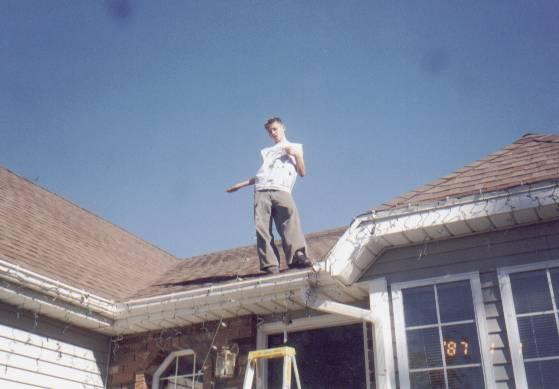 Jason on roof