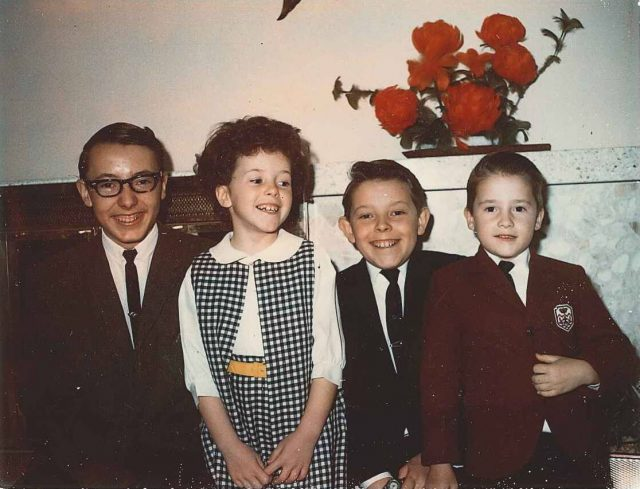 Jeff, Joy, Larry, Rick, February 19, 1967
