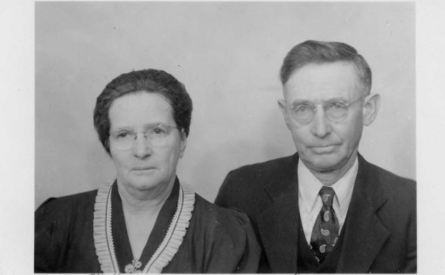 Jennie Richman and Samuel George Housley