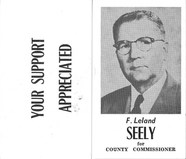 Jim Seely Country Commissioner