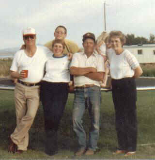 Jim, Carla, Carl Jr., Don, Merle