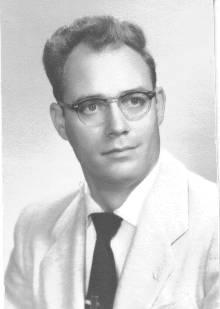 Jim East, December 1957