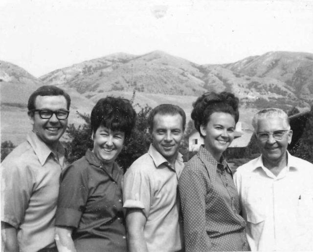 Jimmy, Joyce, Lynn, Karen, Francis Leland