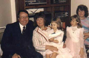 Jimmy, Ellie, and Mary (Kent's wife)