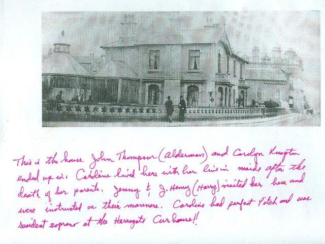 Homeof Alderman John Thompson and Caroline Knapton