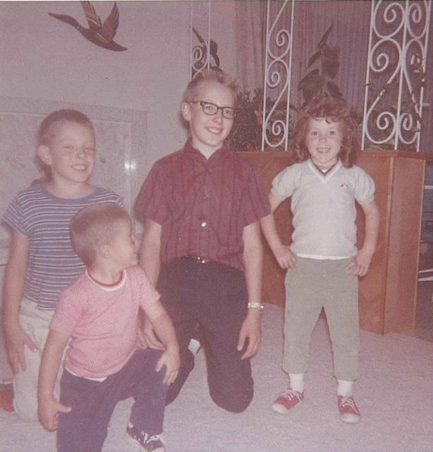 Rick, Larry, Jeff, and Joy Richman