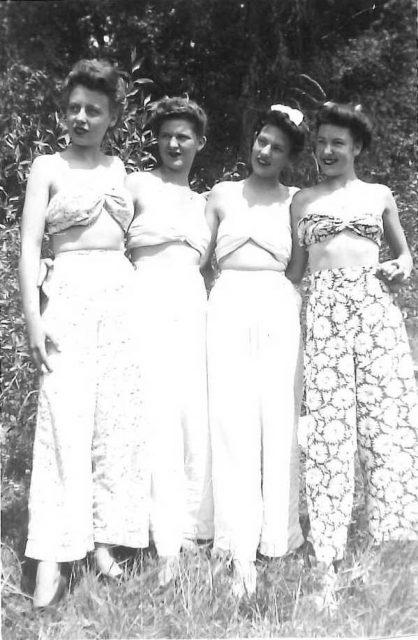Joyceat Bear Lake with friends (Joyce is far right)