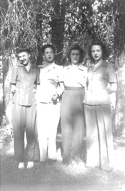 Joyce at Bear Lake with friends. (Joyce is far left.)