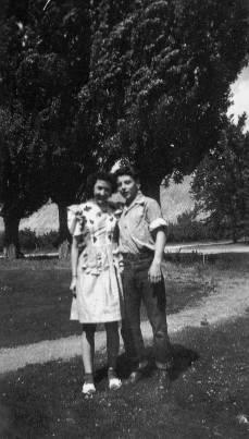 Joyce and Lynn 1946