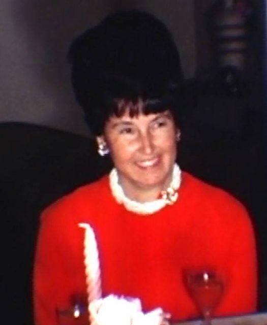 Joyce at Thanksgiving