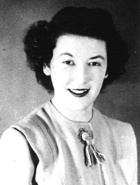 Joyce, age 19 (about 1947)