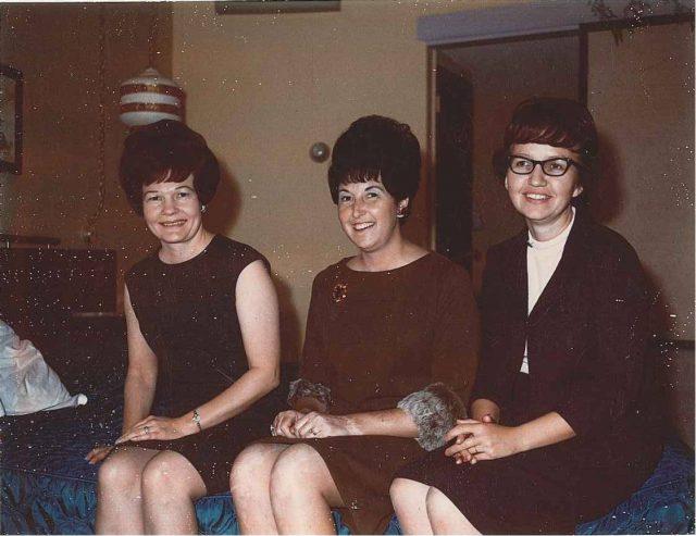 Peggy Godfrey, Joyce, Grace Harrison, December 1966