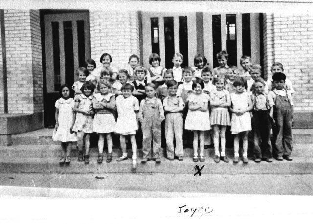 Joyce's school photo