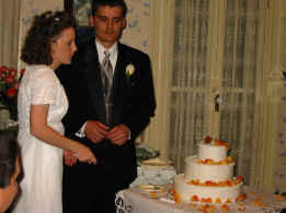 Wedding and reception, November 10, 2001, at The Bishop's House, Boise, Idaho