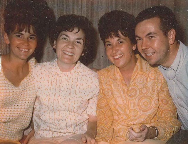 Karen, Gwen, Joyce, Jimmy, September 1966