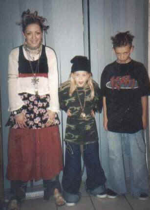 Lanae, Hailee, Jason, Halloween