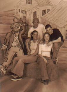 Karina Beyler, Jerrin Johnson, Lanae, Richard Campbell 1999