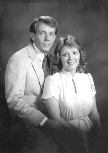 Larry and Teri engagement portrait