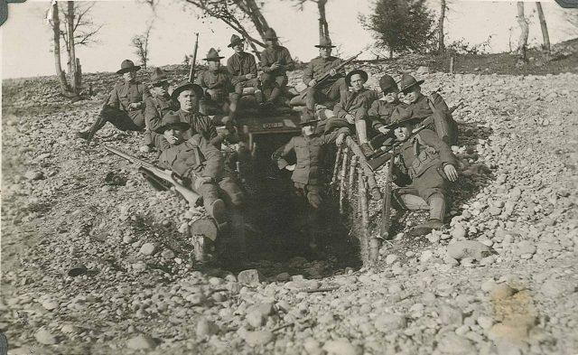Leon Sinfield Richman in World War I